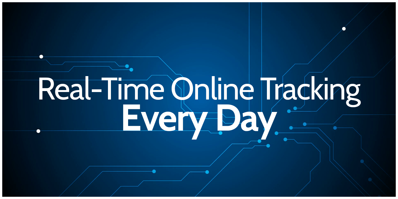 Real-time Online Tracking Every Day